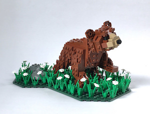 Bear Cub & Landscape 300