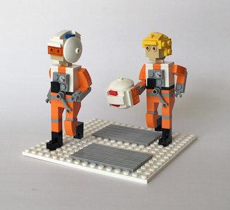 Hoth UCS Snowspeeder Pilots 300
