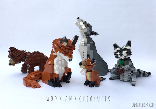 Woodland Creatures Group Shot1 with name logo 640