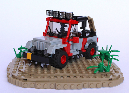 Jurassic Park Jeep 300Tall